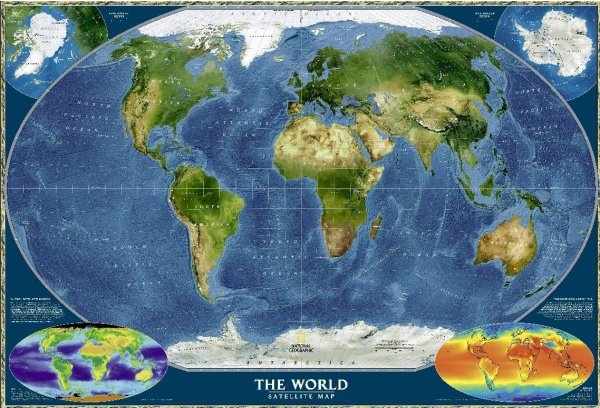 earth map hd picture