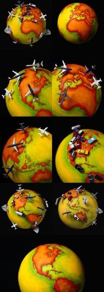 earth polar coordinates definition picture