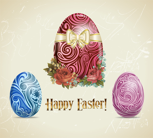 easter egg abstract decoration