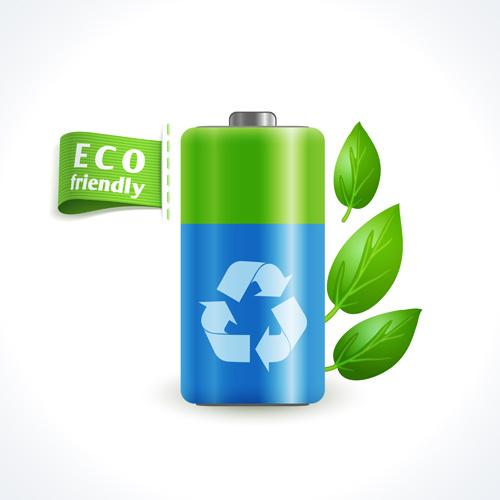 eco friendly logos creative vector design