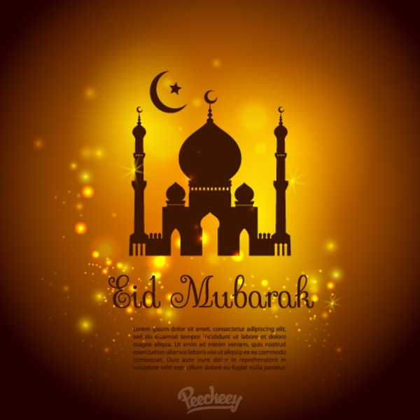 Eid Mubarak Free Vector In Adobe Illustrator Ai Ai Vector Illustration Graphic Art Design Format Format For Free Download 528 48kb