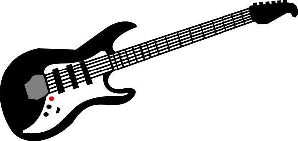 Electric Guitar Clip Art Free Vector In Open Office Drawing Svg