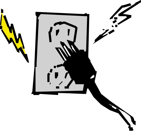 Electrical Outlet And Plug Clip Art Free Vector In Open Office