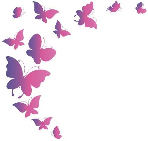 elegant butterflies background art vectors free vector in Summer Girl Clip Art Summer Girl Clip Art