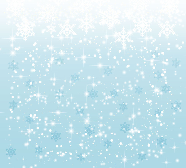 elegant christmas background with snowflakes free vector in adobe