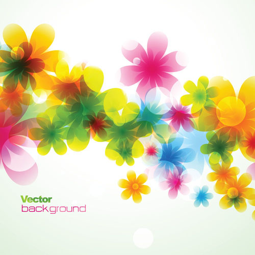 elements of abstract halation background vector