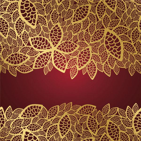 elements of ornate decorative pattern art vector set