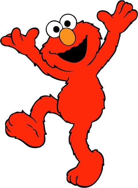 elmo vector free vector download  4 free vector  for