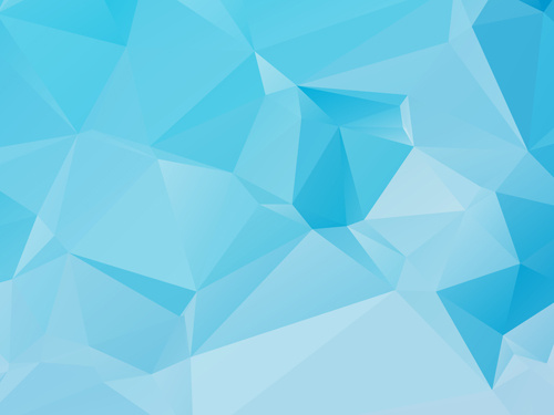 embossment triangular blue background vector