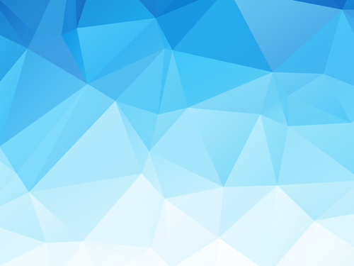 Embossment triangular blue background vector Free vector in