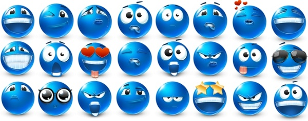 Emoticons 40 smilies Icons icons pack