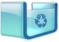 Empty recycle box
