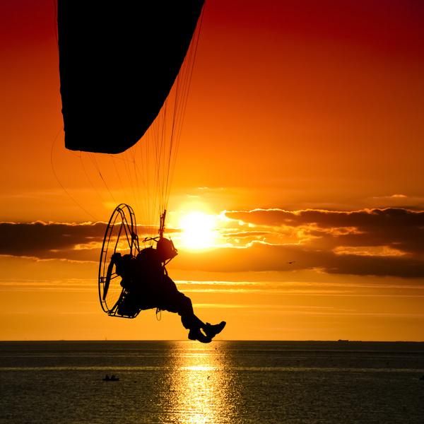 engine powered paraglider