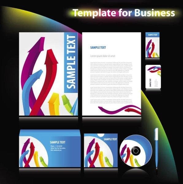 enterprise vi system template 03 vector