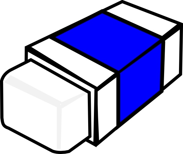 Eraser Clip Art Free Vector In Open Office Drawing Svg