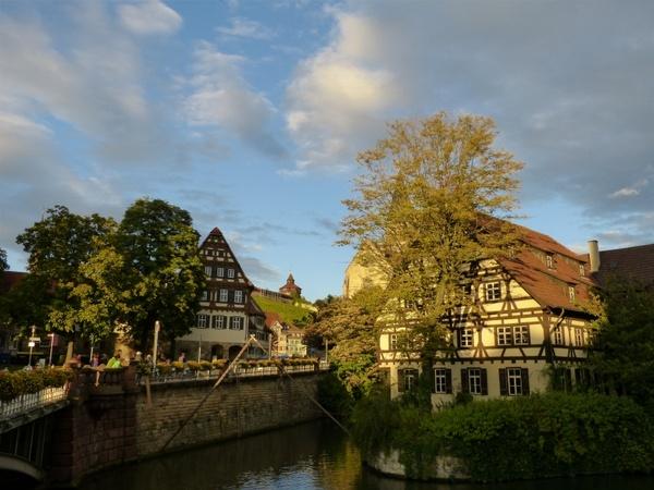 esslingen old town truss