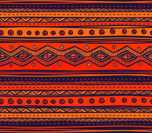 Ethnic Style Tribal Patterns Graphics Vector Free Vector In Enchanting African Tribal Patterns
