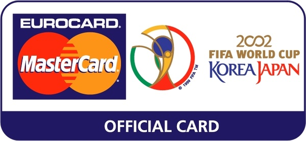 Eurocard Mastercard 2002 Fifa World Cup 0 Free Vector In