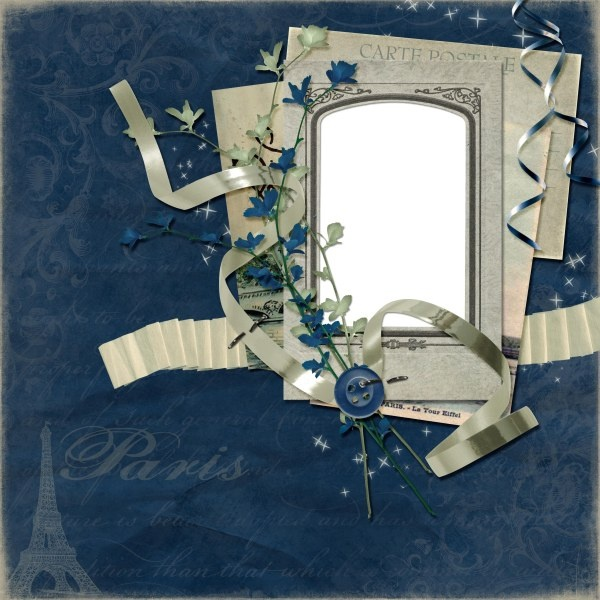 europe and the united states collage style photo frame 1