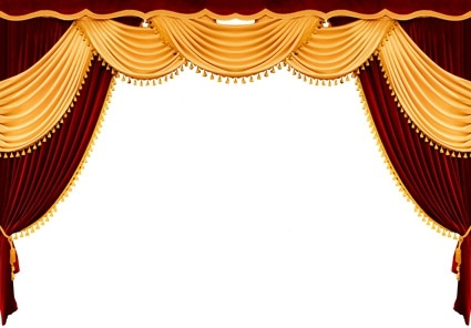 european curtain picture