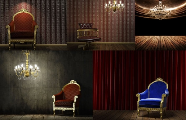 european gorgeous retro chairs highdefinition picture