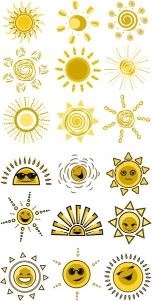 expression vector cute funny sun