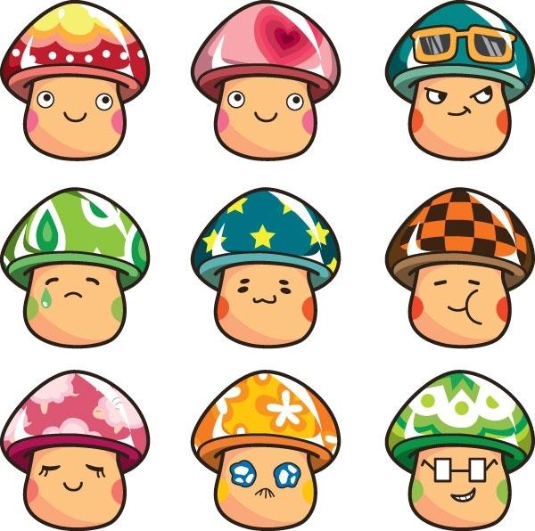 expression vector cute mushrooms