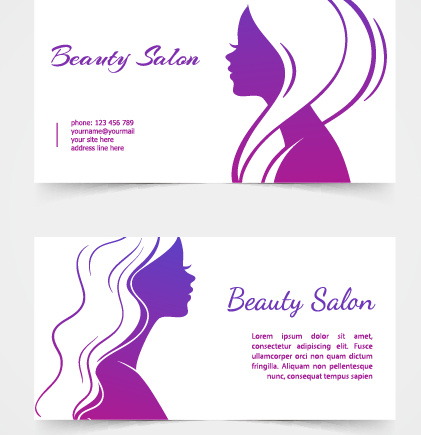Exquisite beauty salon business cards vector free vector in exquisite beauty salon business cards vector free vector 50741kb colourmoves