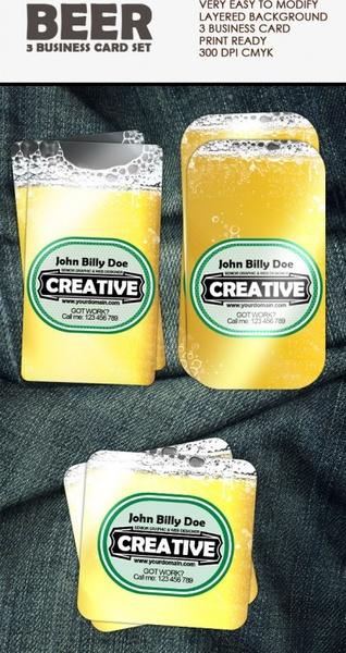 exquisite beer label 01 psd layered