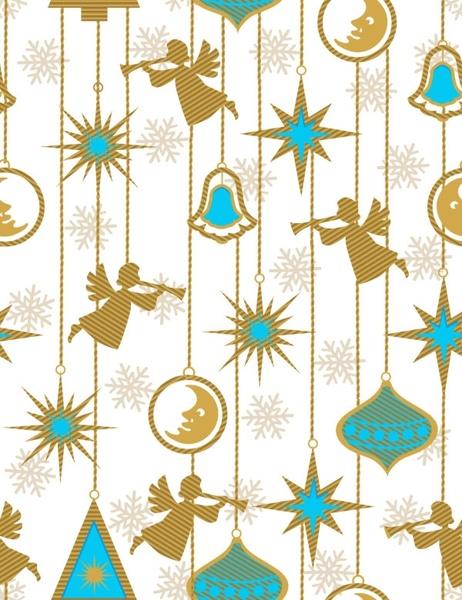 exquisite cartoon pattern background pattern 03 vector
