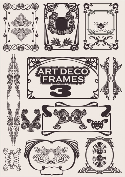 exquisite decorative pattern background 04 vector