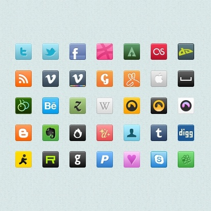 exquisite icon psd layered