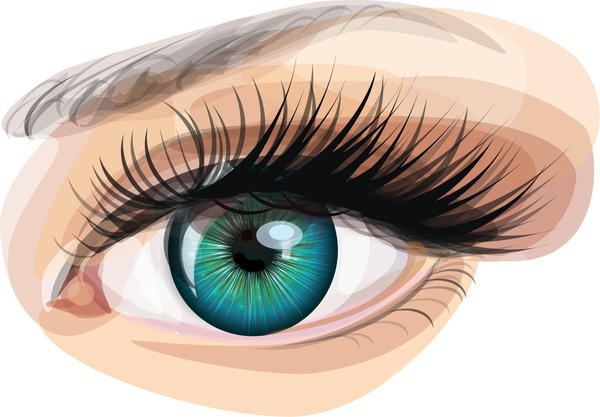 eye free vector download  694 free vector  for commercial blinking eye clip art Winking Eye Clip Art