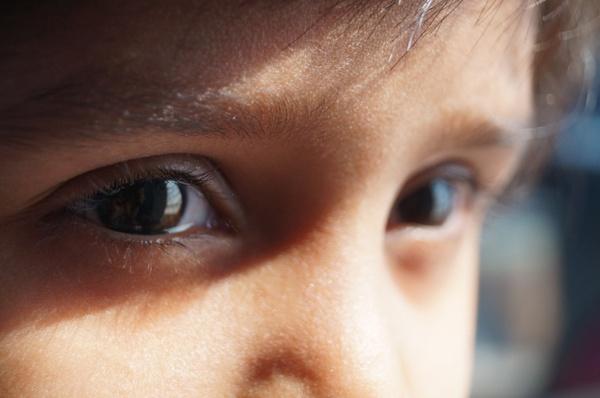 eyes girl eyelashes