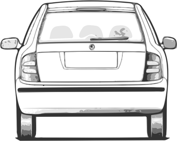 fabia car back view clip art free vector in open office drawing svg rh all free download com Car Care Clip Art Car Care Clip Art