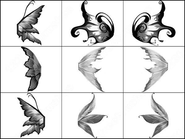 fantasy wings brush