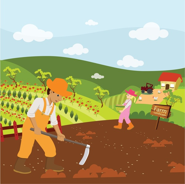 Farmland Free Vector Download 41 Free Vector For
