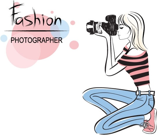 fashion beauty illustrator 01 vector