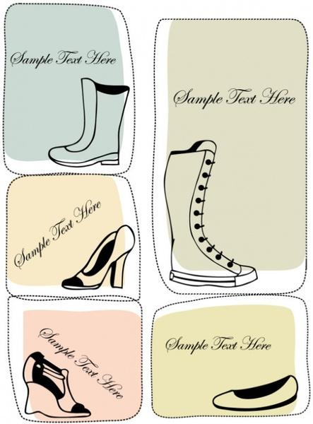 fashion boots illustrator 04 vector