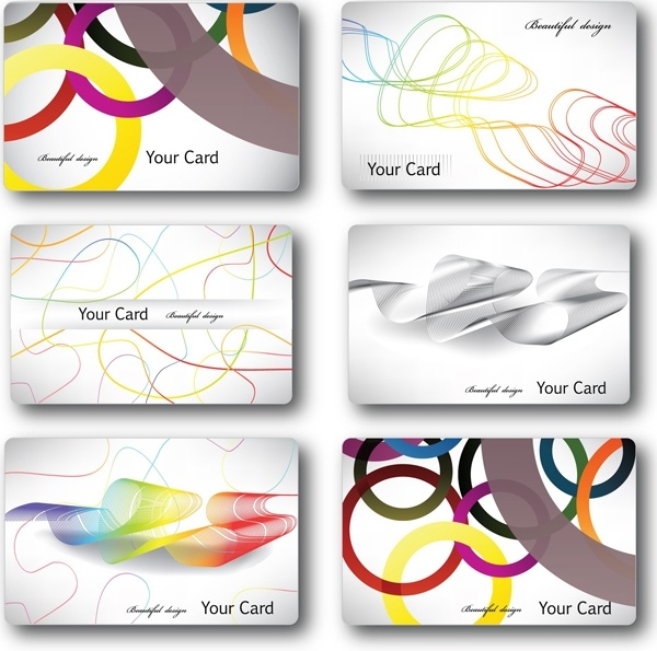 Fashionable streamline card template vector free vector in adobe.