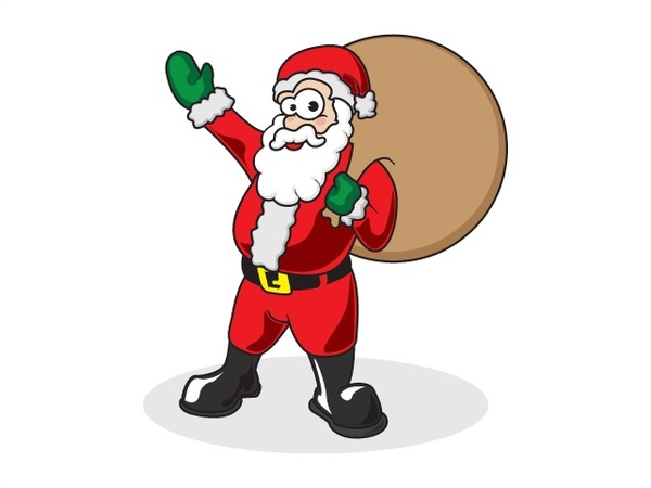Father Christmas Images Free.Father Christmas Free Vector In Adobe Illustrator Ai Ai
