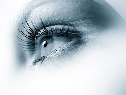 female eye closeup picture