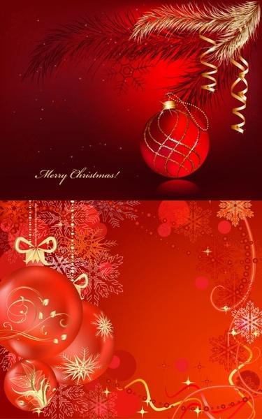 festive christmas ball vector