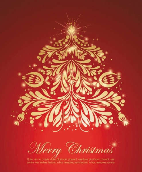 festive gift 03 vector