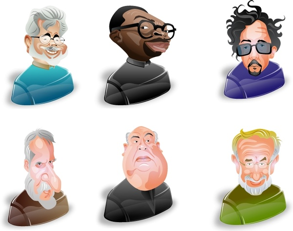 Film Directors Icons icons pack