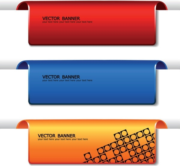 Fine Banner 01 Vector Free Vector In Encapsulated Postscript Eps