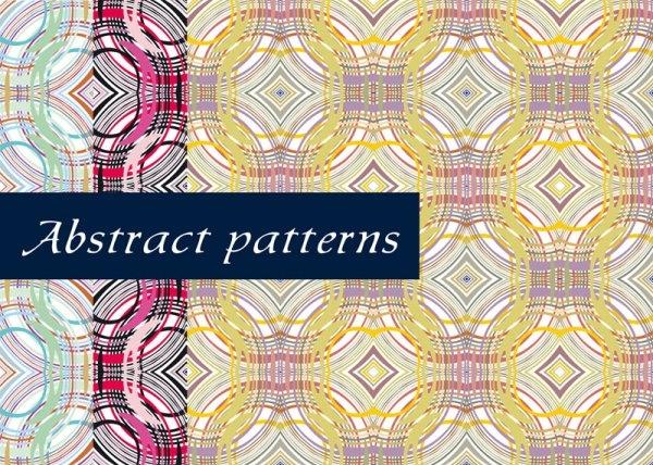 fine line pattern background 03 vector