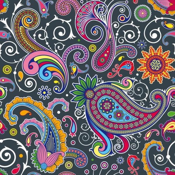 fine pattern background 05 vector