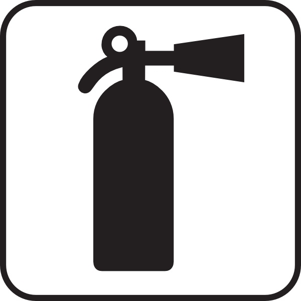 fire extinguisher white clip art free vector in open office drawing rh all free download com fire extinguisher clipart design fire extinguisher training clipart