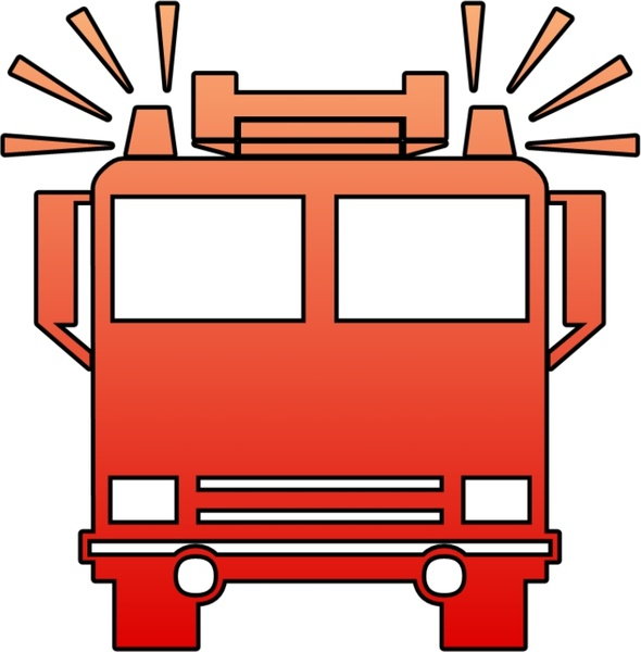 Fire Truck Free Vector In Open Office Drawing Svg Svg Vector Illustration Graphic Art Design Format Format For Free Download 114 45kb